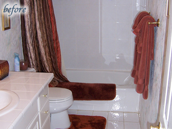 Before Bathroom Remodeling